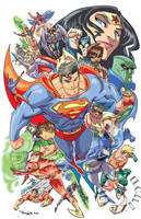 Justice League by theFranchize