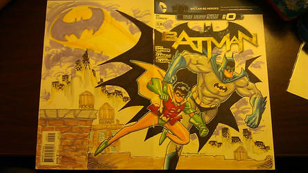 Dynamic Duo Sketch Cover by theFranchize