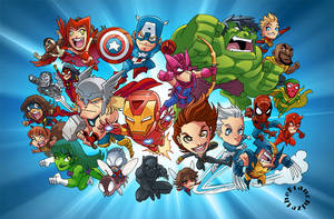 Chibi Avengers by theFranchize