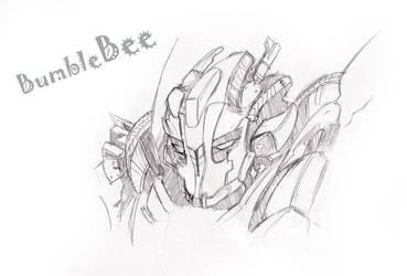 Eye-shielded BumbleBee by BumblebeeSam