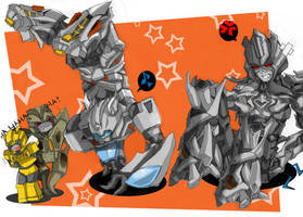 Jazz v. Megatron-Breakdance xD by BumblebeeSam