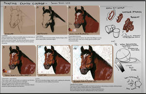 Painting Crash Course (horse) by S-Dan-Steen