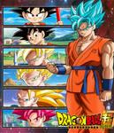 Wallpaper Goku fases  FacuDibuja by FacuDibuja