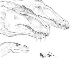 Dinosaurs by Foelina
