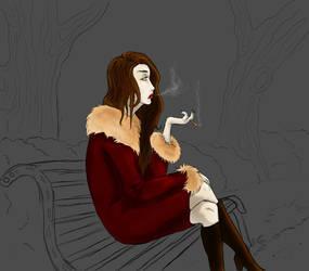 La Fantasma - The ghost wip by Foelina