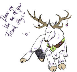 Draw me like one of your french stags by Foelina