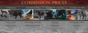 Commission info: CLOSED by Chickenbusiness
