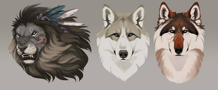 Mooore headshots by Chickenbusiness