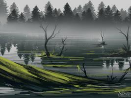 Marsh by Chickenbusiness