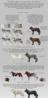 Some wolf designing tips by Chickenbusiness