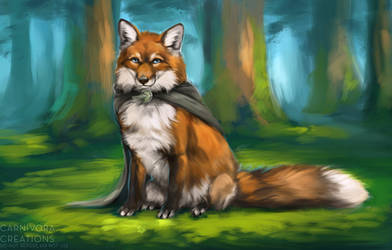 Shire fox by Chickenbusiness