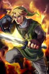 Link: Legend of Zelda by Mireielle