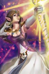 Princess Zelda by Mireielle