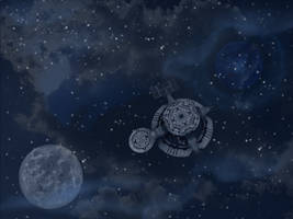 Outer Space WP by WDWParksGal