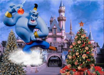 Genie Brings Christmas Joy by WDWParksGal