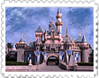 Fad-Artwork S B Castle Stamp by WDWParksGal
