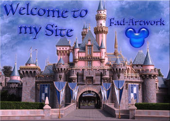 Fad-Artwork Welcome Banner by WDWParksGal