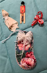 Craft Christmas Stocking and Toys by WDWParksGal