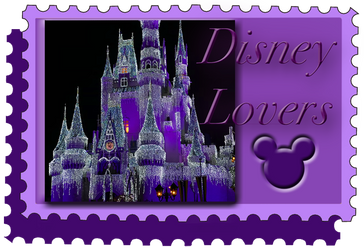 Disney Lovers Stamp Banner by WDWParksGal
