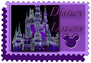 Disney Lovers Stamp Icon by WDWParksGal