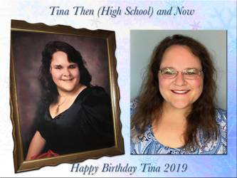 Tina Then and Now by WDWParksGal
