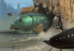Giant Fish by XxADRxX