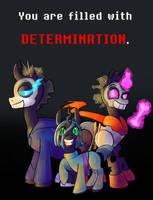 DETERMINATION by RyuRedwings