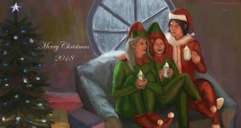Merry Christmas 2018 by flabbergastingdragon