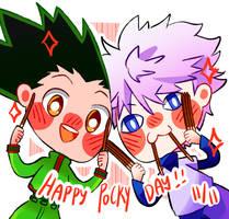 HxH: Happy Pocky Day! by AukiBiya