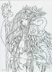 Elfa de la sangre by Plathea