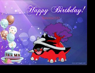 Happy Birthday Torterra1342 by cheriathesummoner2