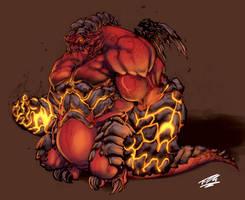 Demon: Joe MAD by Nubry
