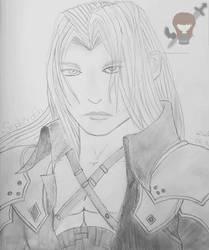 Sephiroth Bleistift by OneWingedAngelKisaki