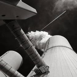 Kohlekraftwerk Lippendorf by vamosver