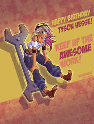 Happy Birthday... Um... Dude! by HyperChronic