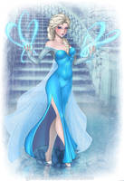 Queen Elsa by yuureikun