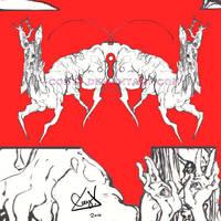 -Red Deer- by CoeyKuhn