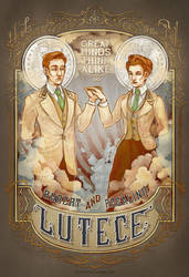 Lutece Twins I by CoeyKuhn