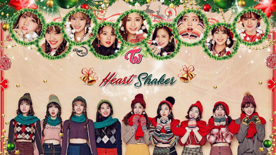 Twice Heart Shaker Wallpaper By Yuyo8812 On Deviantart