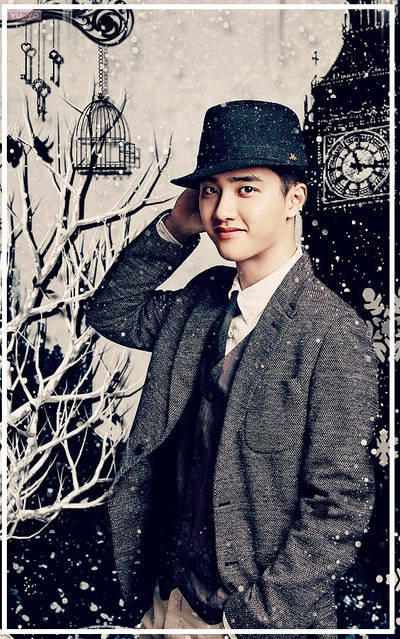Exo Kyungsoo Lockscreen Wallpaper By Yuyo8812 On Deviantart