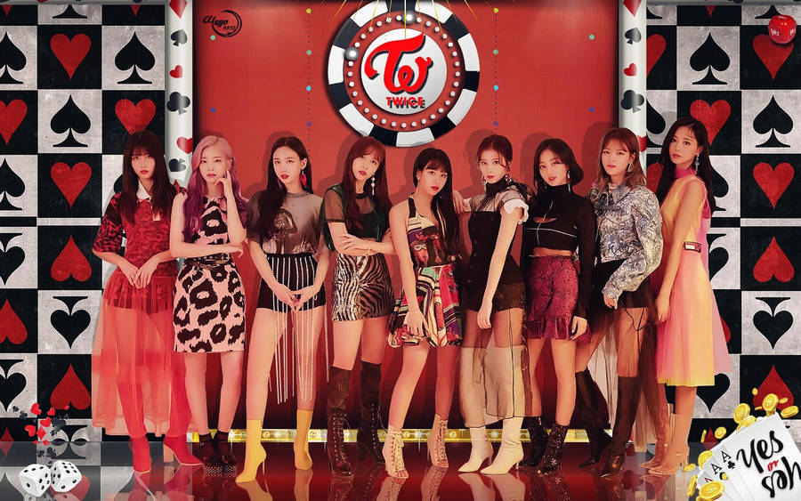 Twice Yes Or Yes Wallpaper By Yuyo8812 On Deviantart