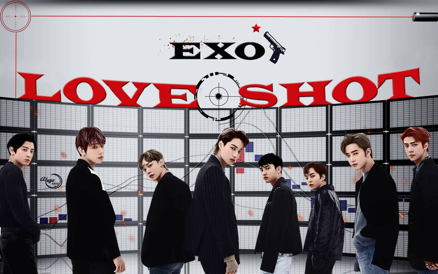 Exo Love Shot 2 Wallpaper By Yuyo8812 On Deviantart