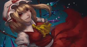 Flandre Scarlet by orangesekaii