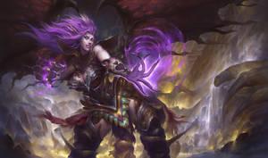 Morgana - League of Legends by orangesekaii