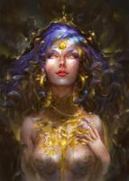 Medusa by orangesekaii