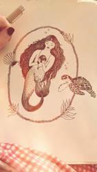 Siren Salutations by babyrubydoll