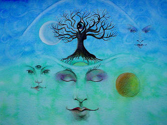 TREE OF THOUGHT by Eyeart