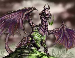 Akasha Dragon by k1lleet