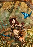Chasing butterflies (Cheesecake version) by k1lleet
