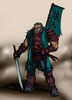 Orc Samurai by k1lleet